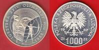 1000 Zloty 1987 Polen Olympiade Seoul, Bogenschütze - Probe Polierte Pl... 15,00 EUR  zzgl. 5,00 EUR Versand