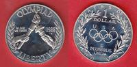 1 Dollar 1988 USA Olympic Games 1988 Seoul, Olympic Flame Polierte Plat... 16,00 EUR  +  5,00 EUR shipping
