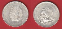 5 Pesos 1948 Mexiko Cuauhtemoc bankfrisch  25,00 EUR  zzgl. 5,00 EUR Versand