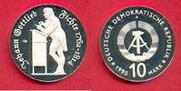 10 Mark 1990 DDR Fichte Silber Polierte Platte offen, Proof PP,  95,00 EUR  zzgl. 5,00 EUR Versand