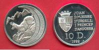 10 Diners 1992 Andorra Gemse, Tierwelt, WWF, Endangered Wildlife Polier... 24,00 EUR  zzgl. 5,00 EUR Versand