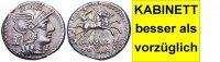 AR Denar 134 v. Chr. Römische Republik M. MARCIUS MN. F. besser als vor... 470,00 EUR kostenloser Versand