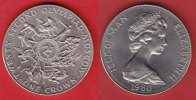 Isle of Man 1 Crown 1980 Stempelglanz Brilliant uncirculated BU XXII. Ol... 5,00 EUR