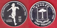 7000 Francos 1992 Aequatorialguinea Olympiade 1992 Barcelona, Katrin Kr... 19,20 EUR  zzgl. 5,00 EUR Versand