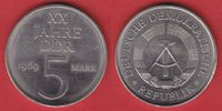 5 Mark 1969 DDR XX Jahre DDR, Cu-Ni Probe Stempelglanz  25,00 EUR