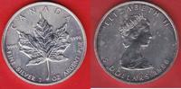 5 Dollars 1988 Kanada Kanadischer Maple Leaf 1 Unze Feinsilber Stempelg... 23,00 EUR