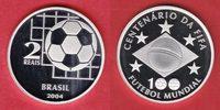 2 Reais 2004 Brasilien Nationalflagge, Sterne - Fußball WM 2006 Deutsch... 37,20 EUR  zzgl. 5,00 EUR Versand