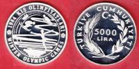 5000 Lira 1984 Türkei Olympiade 1984 Sarajevo - Wintersportarten Polier... 23,00 EUR