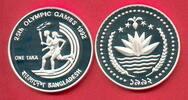 1 Taka 1992 Bangladesh Olympiade 1992 Barcelona, Fackellauf Polierte Pl... 25,00 EUR  zzgl. 5,00 EUR Versand