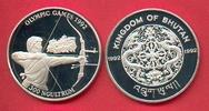 300 Ngultrum 1992 Bhutan Olympiade 1992 Barcelona, Bogenschießen Polier... 17,20 EUR  zzgl. 5,00 EUR Versand