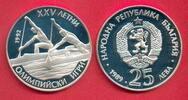 25 Lewa 1989 Bulgarien Olympiade 1992 Barcelona, Kanu Polierte Platte P... 13,20 EUR  zzgl. 5,00 EUR Versand