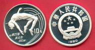 10 Yuan 1990 China Olympiade 1992 Barcelona, Hochsprung Polierte Platte... 26,20 EUR  zzgl. 5,00 EUR Versand