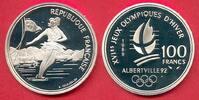 100 Francs 1989 Frankreich Olympiade 1992 Albertville, Eiskunstlaufpaar... 14,00 EUR  zzgl. 5,00 EUR Versand