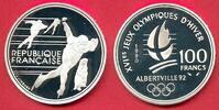 100 Francs 1990 Frankreich Olympiade 1992 Albertville, Eisschnelläufer ... 12,00 EUR