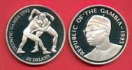 20 Dalasis 1993 Gambia Olympiade 1992 Barcelona, 2 Ringer Polierte Plat... 17,20 EUR  zzgl. 5,00 EUR Versand