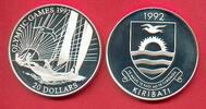 20 Dollars 1992 Kiribati Olympiade 1992 Barcelona, Segler Polierte Plat... 17,20 EUR  zzgl. 5,00 EUR Versand