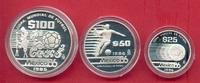 175 Pesos 1985 Mexiko Fussball WM 1986 Mexiko - Serie III Polierte Plat... 33,00 EUR