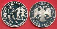 3 Rubel 1993 Russland Olympische Spiele Fußball Proof PP Polierte Platte  22,00 EUR  zzgl. 5,00 EUR Versand
