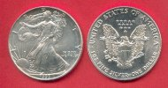 USA 1 Dollar American Eagle Bullion Coin 1 Ounce pure Silver