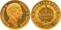 Halbe Vereinskrone - RR 1857 Bayern, Königreich Maximilian II. (1848-18... 8000,00 EUR kostenloser Versand