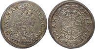 15 Kreuzer (1/4 Gulden) 1691 Bayern, Kurfürstentum Maximilian II. Emanu... 125,00 EUR  zzgl. 5,00 EUR Versand