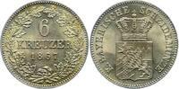 Bayern, Königreich 6 Kreuzer - R Ludwig II. (1864-1886)