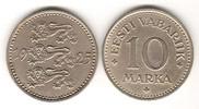 10 Marka 1925 Estland - Estonia Kursmünze seltener Jahrgang sehr schön  15,00 EUR  zzgl. 4,50 EUR Versand