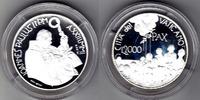 2000 Lire 2001 Vatikan Dialog der Kulturen mit Box und Zertifikat Proof  55,00 EUR  zzgl. 5,00 EUR Versand
