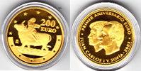 200€ 2003 Spanien 1 Jahr der Eurowährung mit Box und Zertifikat proof  580,00 EUR kostenloser Versand