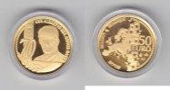50 Euro 2004 Belgien 50 Gold-Euro 70.Geburtstag König Albert II PP  375,00 EUR