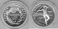 Türkei 10.000.000 Lira 2001 Olympiade Sydney proof   75,00 EUR  zzgl. 5,00 EUR Versand