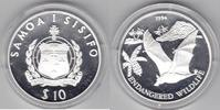 Samoa  10 Dollar 1994 Fledermaus proof
