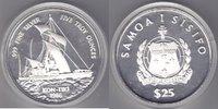 Samoa 25 Tala 1986 Kon Tiki 5oz Ag proof   175,00 EUR  +  10,00 EUR shipping