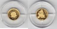 Andorra 2 Diners 10 Jahre Euro kleinste Goldmünze der Welt 2009 pp   95,00 EUR  zzgl. 5,00 EUR Versand