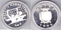 Malta 5 Maltesiche Pfund Olympiade Atlanta 1996   75,00 EUR