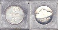 DDR DDR 10 Mark 1985 Semperoper Dresden PP 5000 Ex. orig. verplombt   85,00 EUR  zzgl. 5,00 EUR Versand