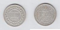 Tunesien 2 Francs 1904 ss   125,00 EUR  zzgl. 5,00 EUR Versand