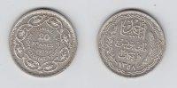 Tunesien 20 Francs 1358 AH vz   75,00 EUR  zzgl. 5,00 EUR Versand
