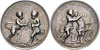Silbermedaille o.J. Nürnberg a.d. Freundschaft und Liebe ss+, Patina  90,00 EUR  zzgl. 6,50 EUR Versand