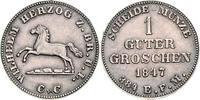 Probe in Silber 1847 CvC Braunschweig und ...