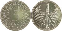 5 Deutsche Mark (DM) 1967 J Bundesrepublik Deutschland - BRD  PP  130,00 EUR  zzgl. 6,50 EUR Versand
