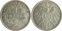 1 Mark 1907 J Kaiserreich  vz-st  80,00 EUR  zzgl. 6,50 EUR Versand