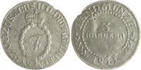 3 Kreuzer 1811 Sachsen-Hildburghausen Friedrich 1786-1826 ss, kl.Sf.a.R... 80,00 EUR  zzgl. 6,50 EUR Versand