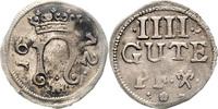 4 Gute Pfennig 1672 Northeim  ss-vz, l.Pr.schw.  45,00 EUR  zzgl. 6,50 EUR Versand