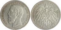 5 Mark 1901 G Baden Friedrich I. 1856-1907 ss+, winz.Rf.  200,00 EUR