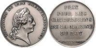 Silbermedaille o.J. Frankreich Louis XV. 1715-1774 vz-st  120,00 EUR  zzgl. 6,50 EUR Versand