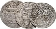 Lot von 3 Stücken o.J. Brandenburg in den Marken - Preussen Friedrich W... 100,00 EUR  zzgl. 6,50 EUR Versand