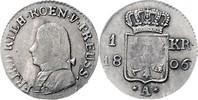 1 Kreuzer 1806 A Brandenburg in den Marken - Preussen Friedrich Wilhelm... 600,00 EUR  zzgl. 6,50 EUR Versand