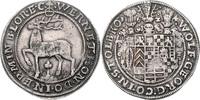 Taler 1624 Stolberg-Stolberg Wolfgang Georg 1615-1631 ss  950,00 EUR  zzgl. 6,50 EUR Versand