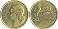 20 Francs 1950 B Frankreich IV. Republik 1947-1959 f.vz  120,00 EUR  zzgl. 6,50 EUR Versand